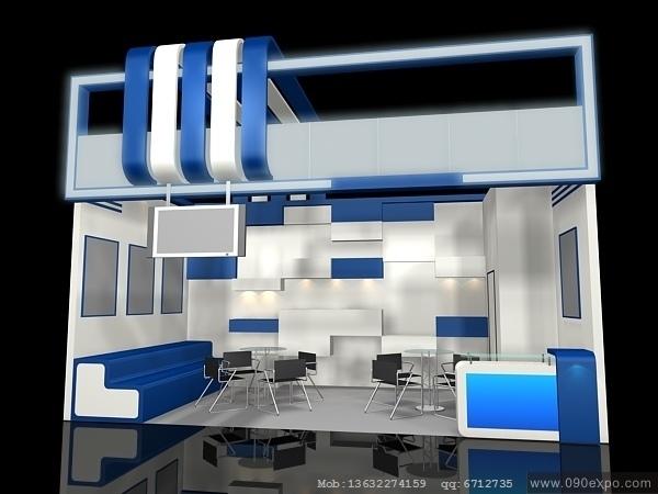 ex1-283展示会3d模型设计--零距离展会网
