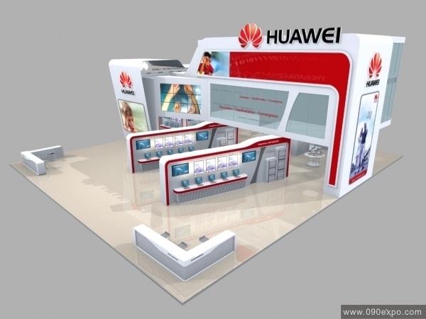 ex3-120华为huawei展览展示3d模型下载